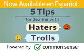 Online safety: 5 tips for dealing with haters and trolls