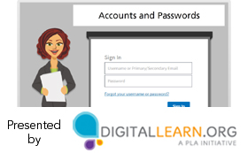 Online safety: Accounts and passwords