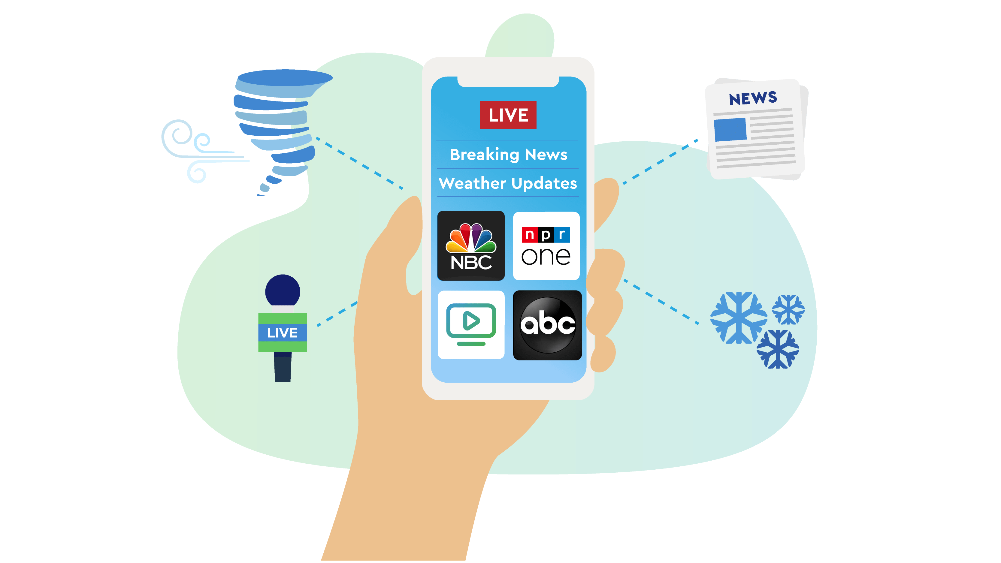 How to watch local news and weather in your area