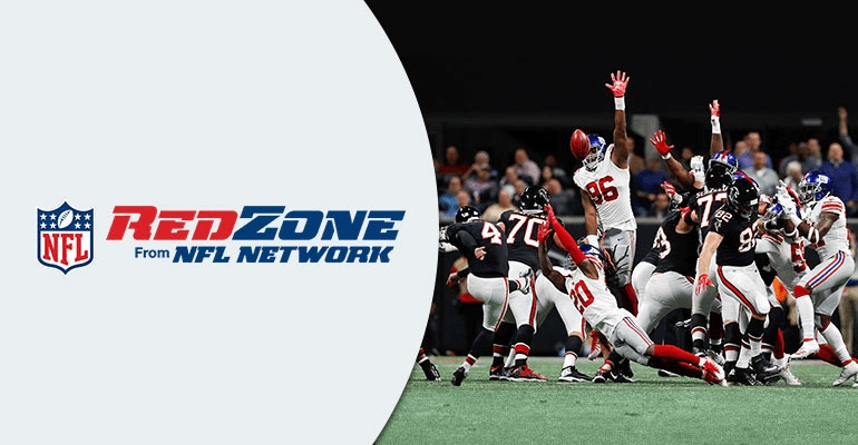NFL Redzone players ready for touchdown
