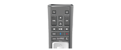 Support - Cox remote equipment representing view channel lineup